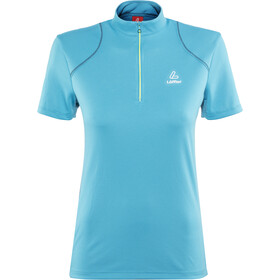 Löffler Pura Bike Jersey Half-Zip Women topazblue